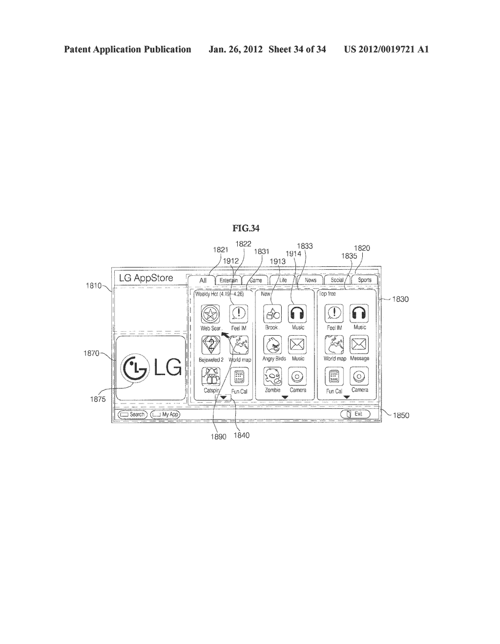 METHOD FOR OPERATING IMAGE DISPLAY APPARATUS - diagram, schematic, and image 35