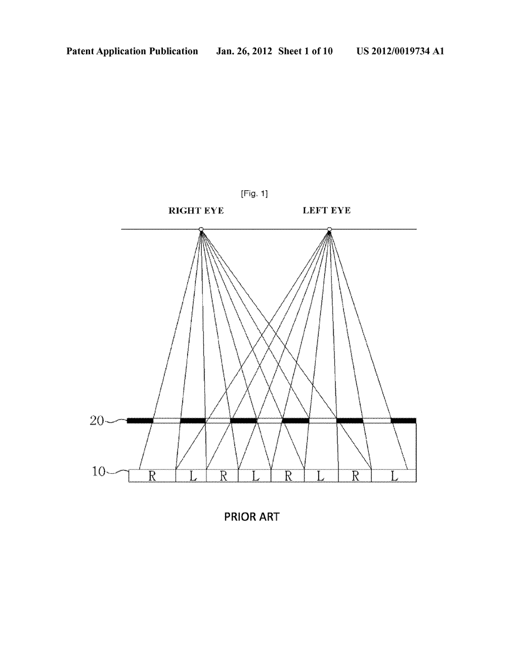 CELL TYPE PARALLAX-BARRIER AND STEREOSCOPIC IMAGE DISPLAY APPARATUS USING     THE SAME - diagram, schematic, and image 02