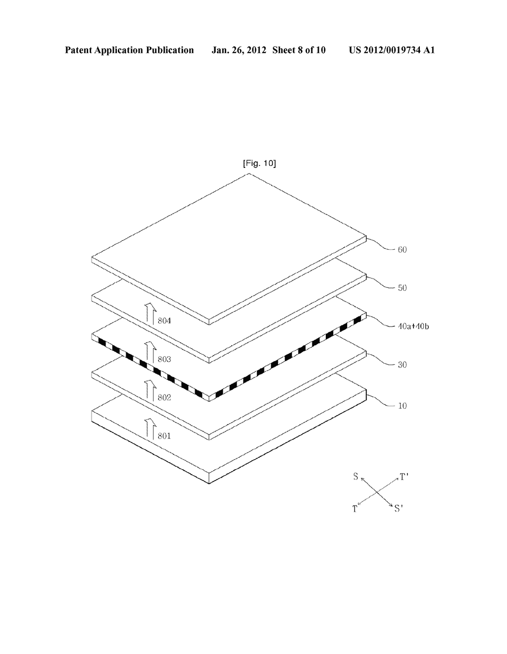 CELL TYPE PARALLAX-BARRIER AND STEREOSCOPIC IMAGE DISPLAY APPARATUS USING     THE SAME - diagram, schematic, and image 09