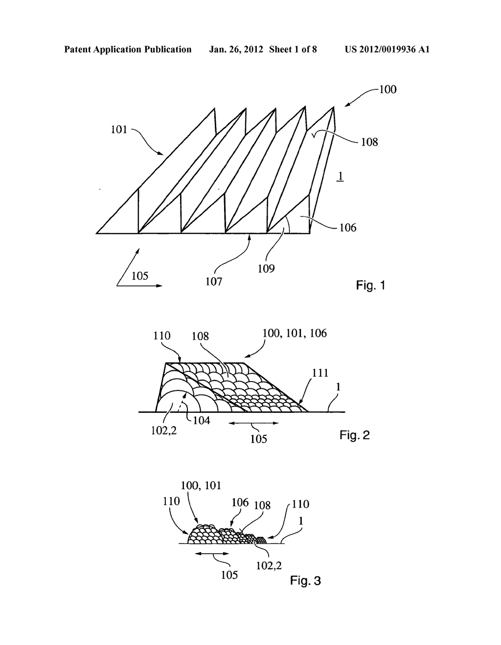 DEVICE FOR DIRECTING LIGHT BEAMS, ILLUSTRATION DEVICE, METHOD FOR     PRODUCING A DEVICE AND AN ILLUSTRATION DEVICE - diagram, schematic, and image 02