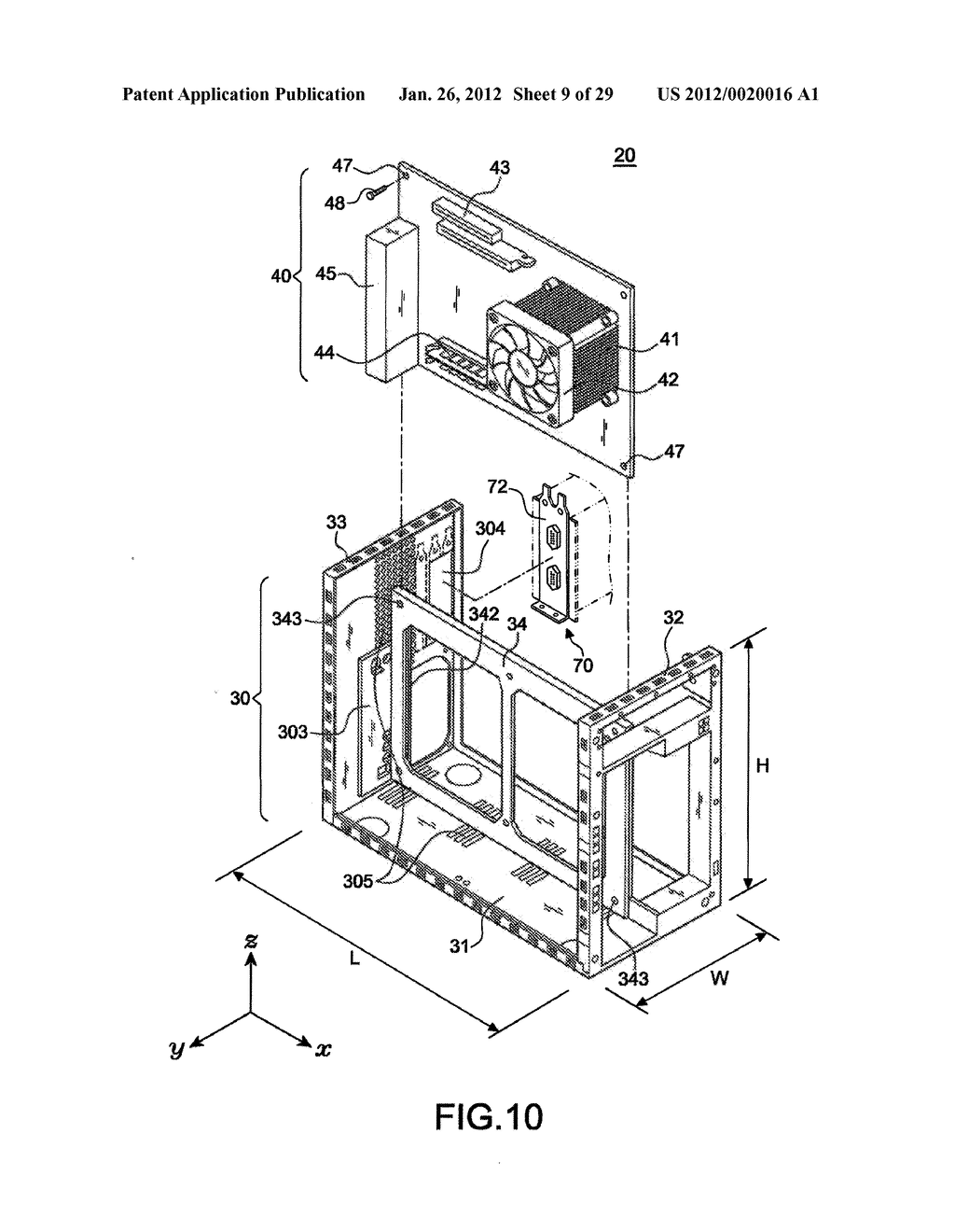 TOWER COMPUTER SYSTEM - diagram, schematic, and image 10