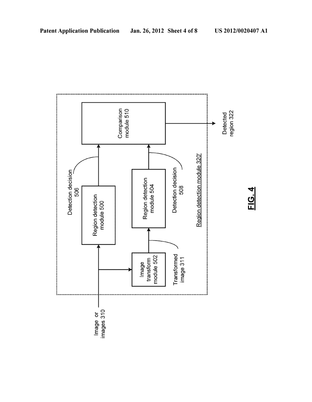RESOURCE ADAPTIVE VIDEO ENCODING SYSTEM WITH REGION DETECTION AND METHOD     FOR USE THEREWITH - diagram, schematic, and image 05