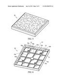 PAVING BLOCK FORMED OF RUBBER CRUMB AND A METHOD OF MANUFACTURING THE SAME diagram and image