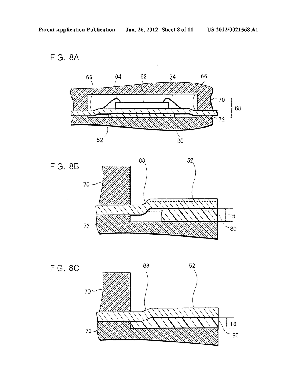 METHOD OF MANUFACTURING CIRCUIT DEVICE - diagram, schematic, and image 09