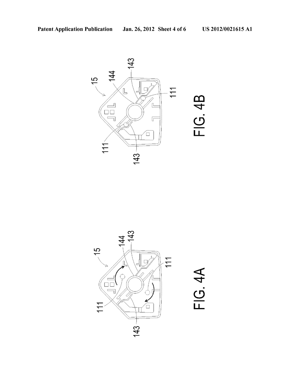 ROTATABLE PLUG AND ELECTRONIC DEVICE HAVING SUCH ROTATABLE PLUG - diagram, schematic, and image 05