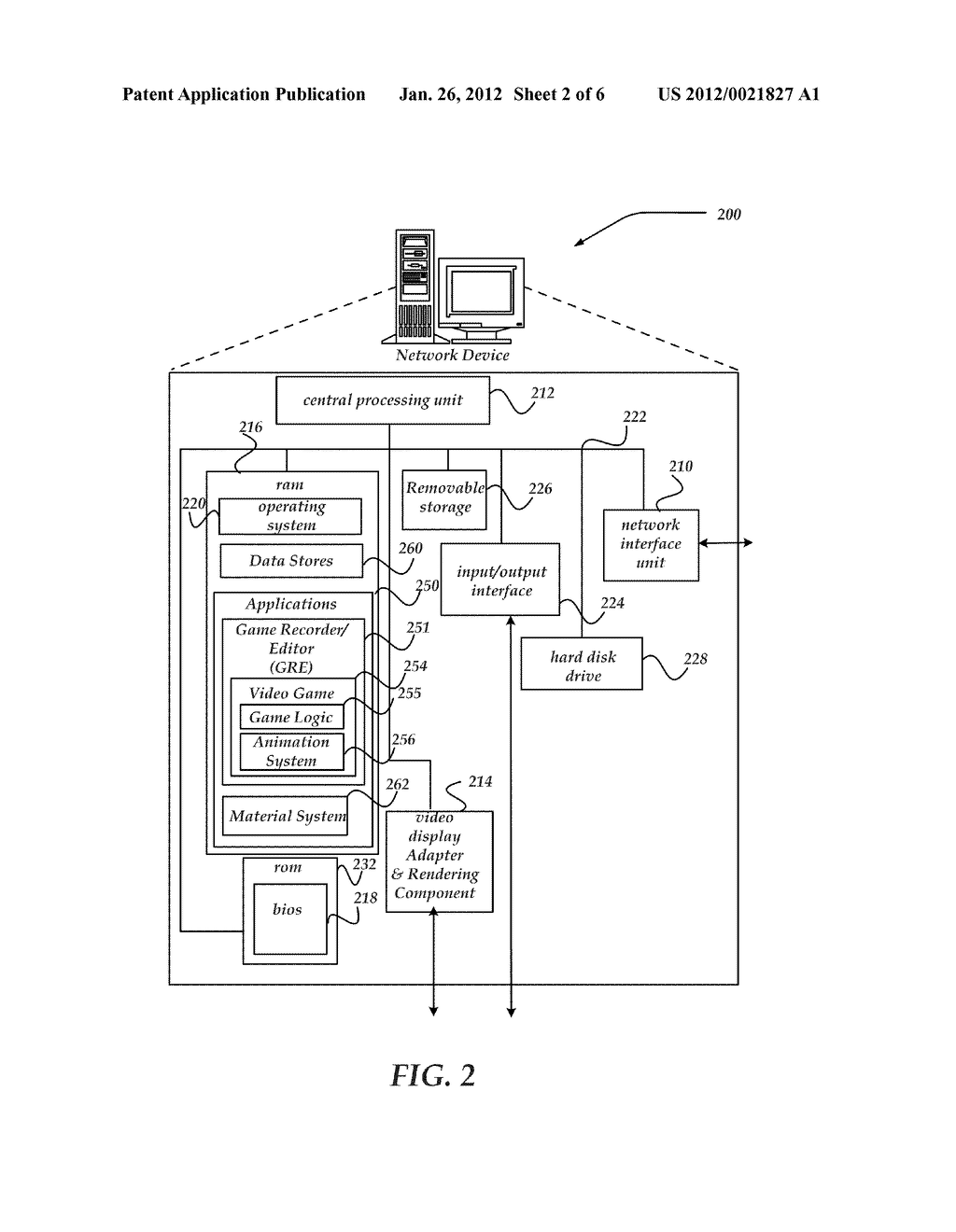 MULTI-DIMENSIONAL VIDEO GAME WORLD DATA RECORDER - diagram, schematic, and image 03