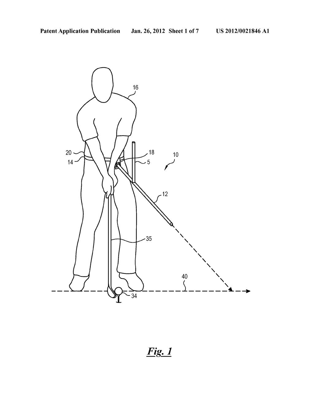 golf swing training device for correcting arm position and hip  : golf swing diagram - findchart.co