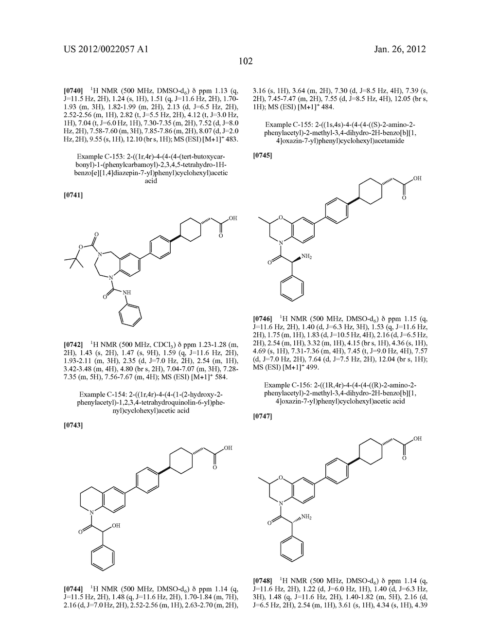 BICYCLIC COMPOUNDS AS INHIBITORS OF DIACYGLYCEROL ACYLTRANSFERASE - diagram, schematic, and image 103