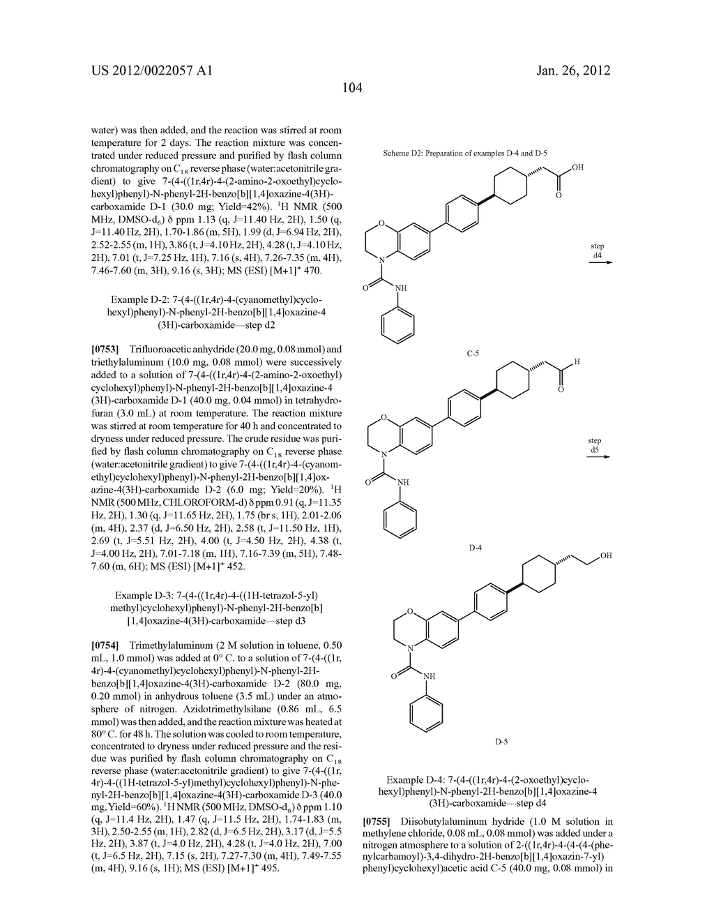 BICYCLIC COMPOUNDS AS INHIBITORS OF DIACYGLYCEROL ACYLTRANSFERASE - diagram, schematic, and image 105