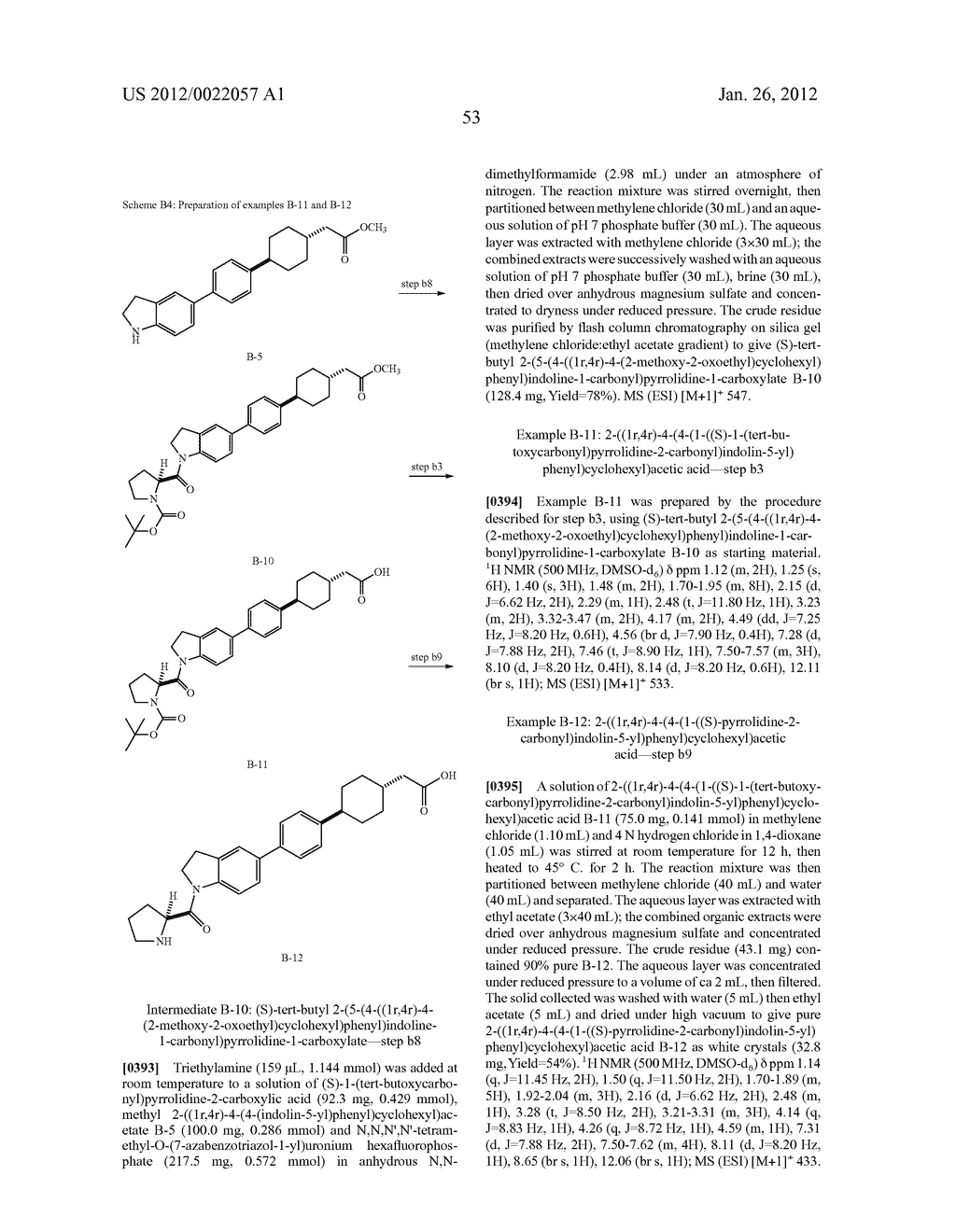 BICYCLIC COMPOUNDS AS INHIBITORS OF DIACYGLYCEROL ACYLTRANSFERASE - diagram, schematic, and image 54