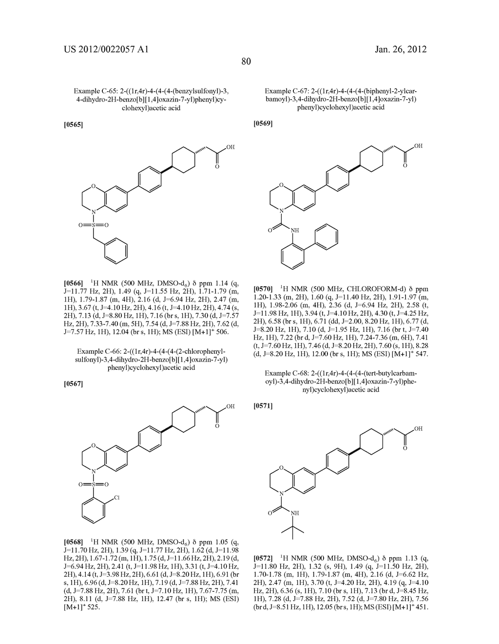 BICYCLIC COMPOUNDS AS INHIBITORS OF DIACYGLYCEROL ACYLTRANSFERASE - diagram, schematic, and image 81