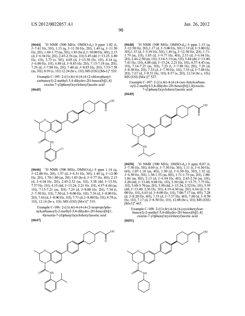 BICYCLIC COMPOUNDS AS INHIBITORS OF DIACYGLYCEROL ACYLTRANSFERASE - diagram, schematic, and image 91