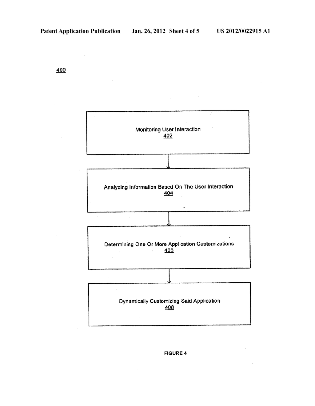 METHOD AND SYSTEM FOR COLLECTION AND USE OF WIRELESS APPLICATION ACTIVITY     INFORMATION - diagram, schematic, and image 05