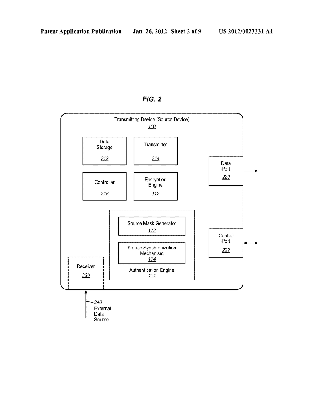 MECHANISM FOR INTERNAL PROCESSING OF CONTENT THROUGH PARTIAL     AUTHENTICATION ON SECONDARY CHANNEL - diagram, schematic, and image 03