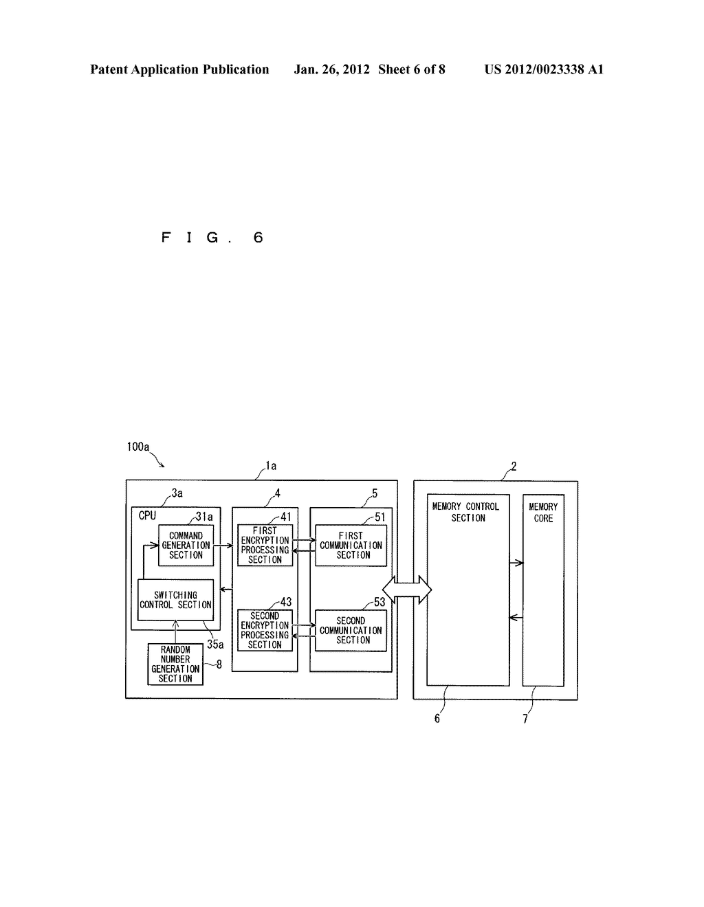 MEMORY CONTROL DEVICE, SEMICONDUCTOR MEMORY DEVICE, MEMORY SYSTEM, AND     MEMORY CONTROL METHOD - diagram, schematic, and image 07
