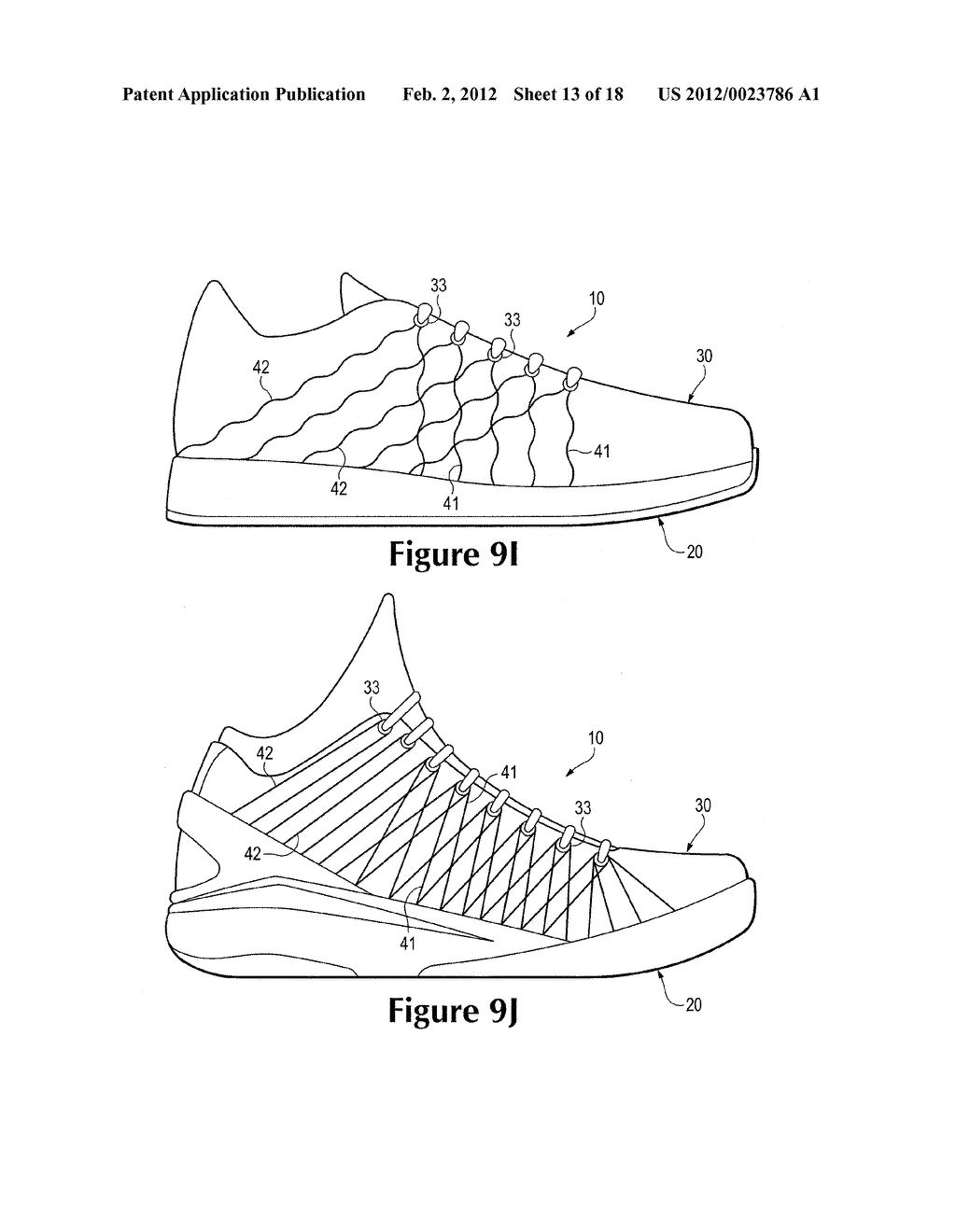 Article Of Footwear Incorporating Floating Tensile Strands - diagram, schematic, and image 14