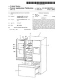 REFRIGERATOR HAVING ICE TRANSFER UNIT diagram and image