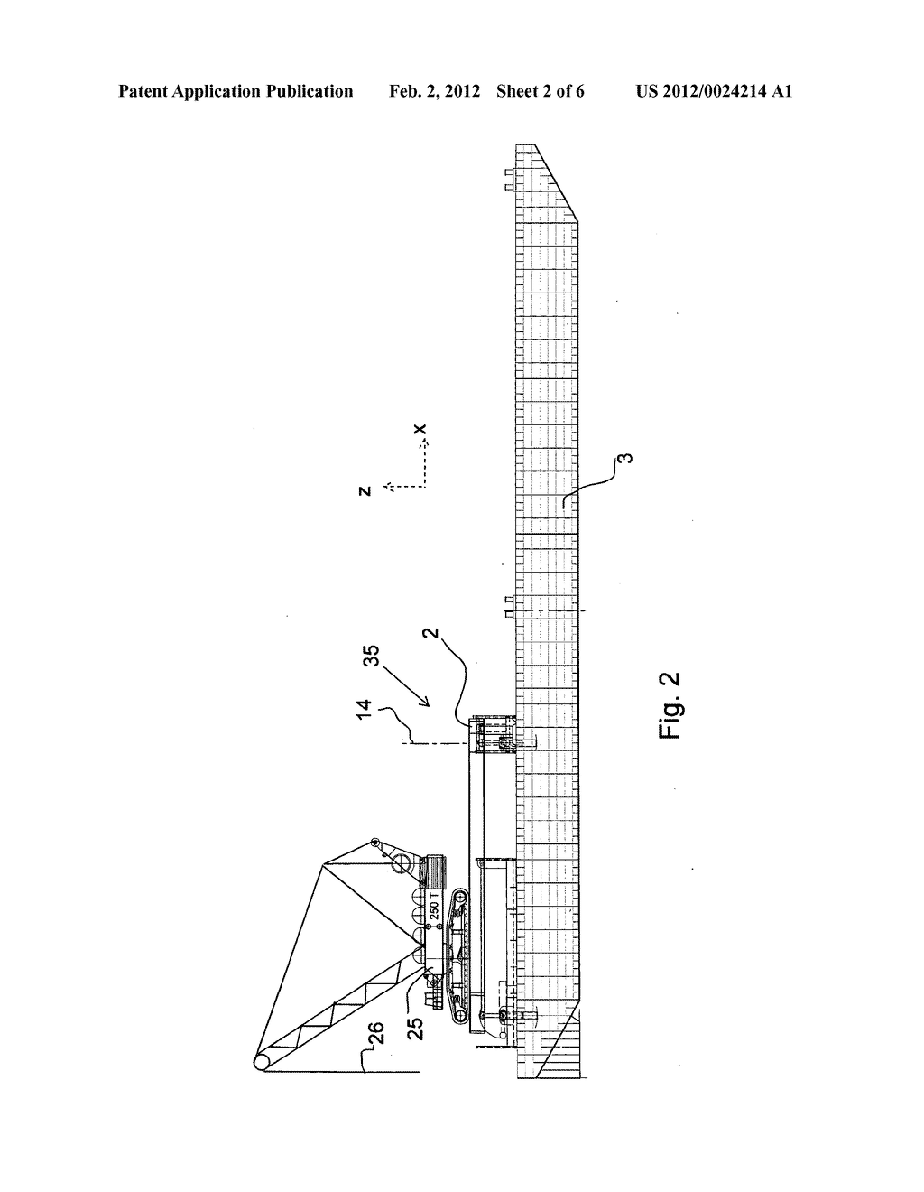 MOTION COMPENSATION DEVICE FOR COMPENSATING A CARRIER FRAME ON A VESSEL     FOR WATER MOTION - diagram, schematic, and image 03