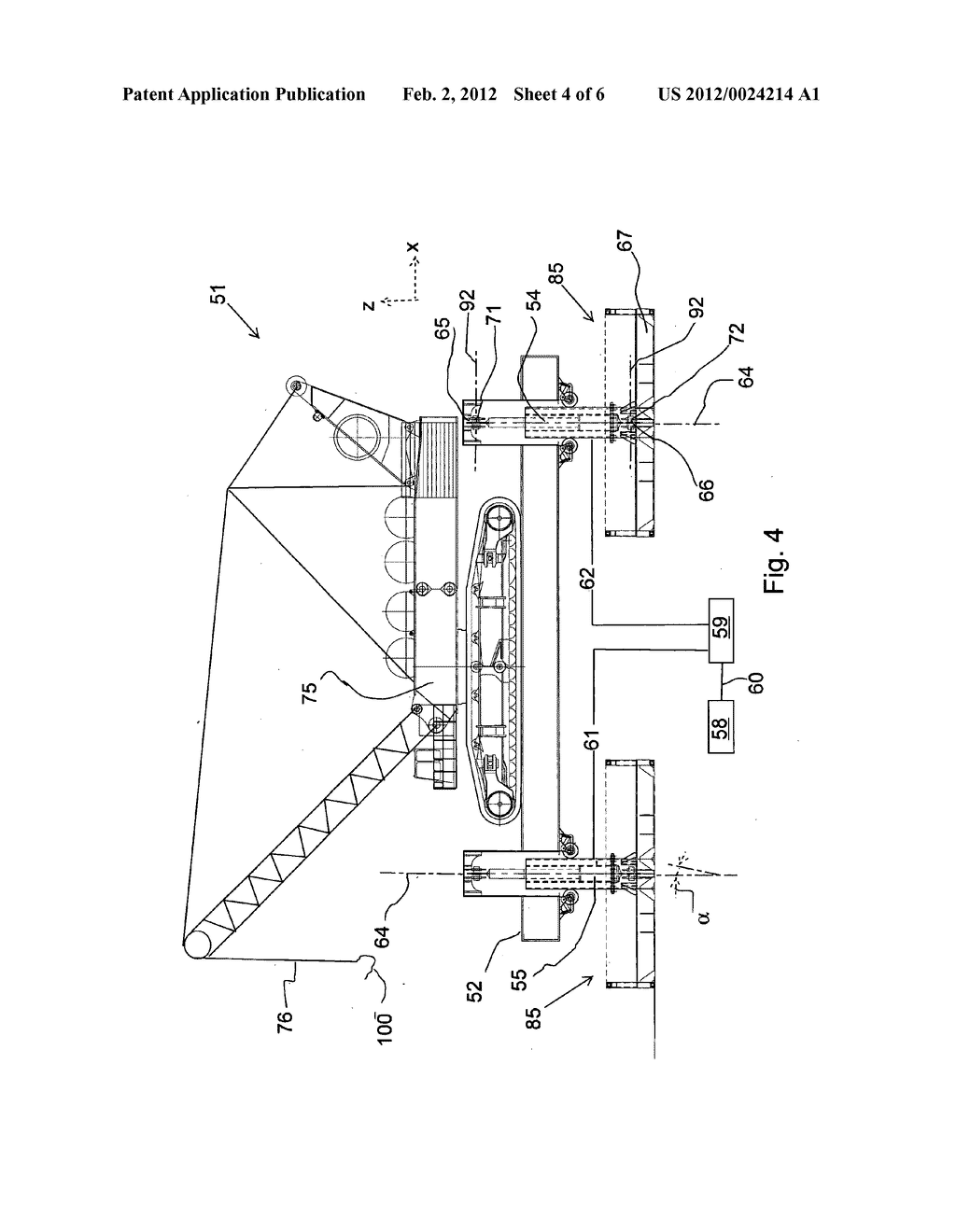 MOTION COMPENSATION DEVICE FOR COMPENSATING A CARRIER FRAME ON A VESSEL     FOR WATER MOTION - diagram, schematic, and image 05