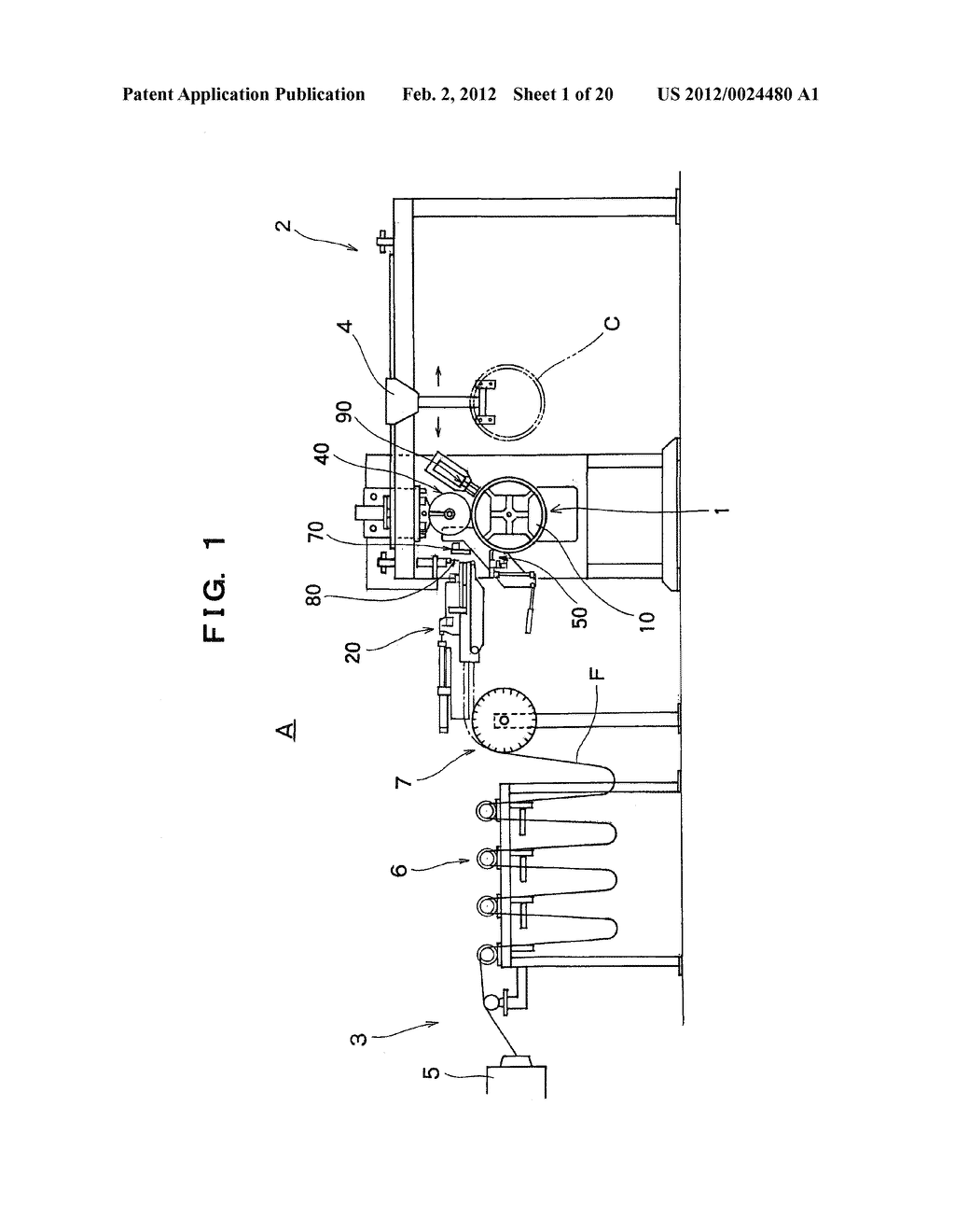 METHOD OF AND APPARATUS FOR MANUFACTURING A TIRE BEAD - diagram, schematic, and image 02