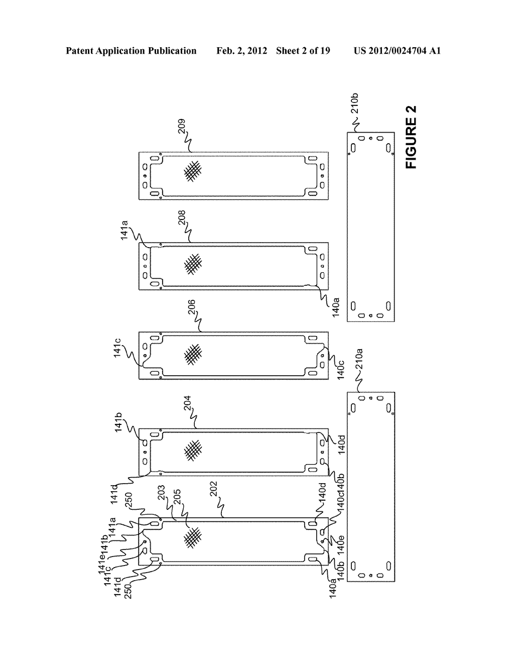 Modular Apparatus For A Saltwater Desalinating System, And Method For     Using Same - diagram, schematic, and image 03