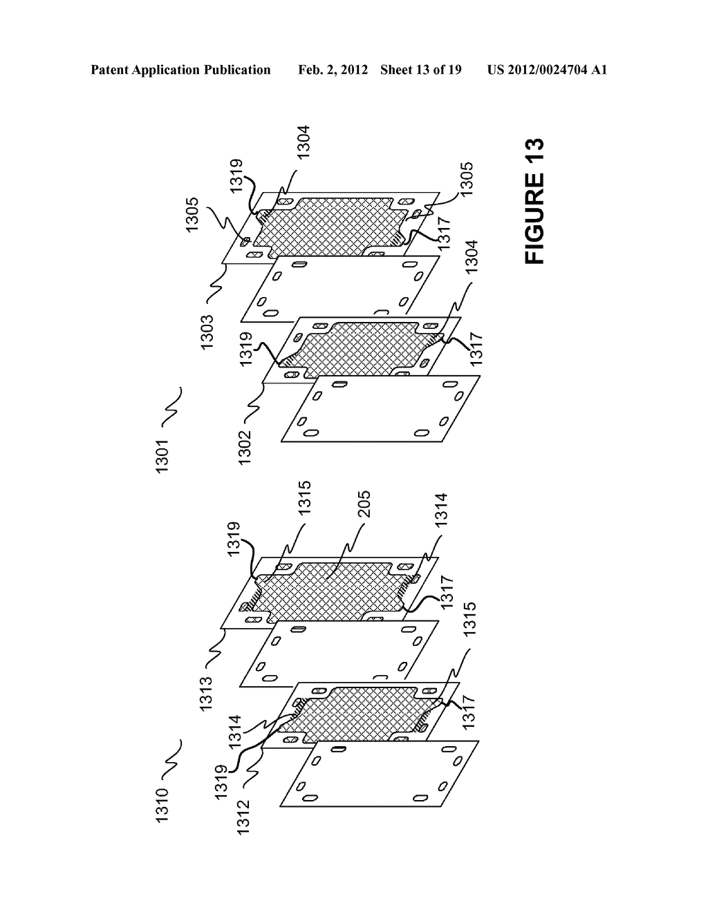 Modular Apparatus For A Saltwater Desalinating System, And Method For     Using Same - diagram, schematic, and image 14