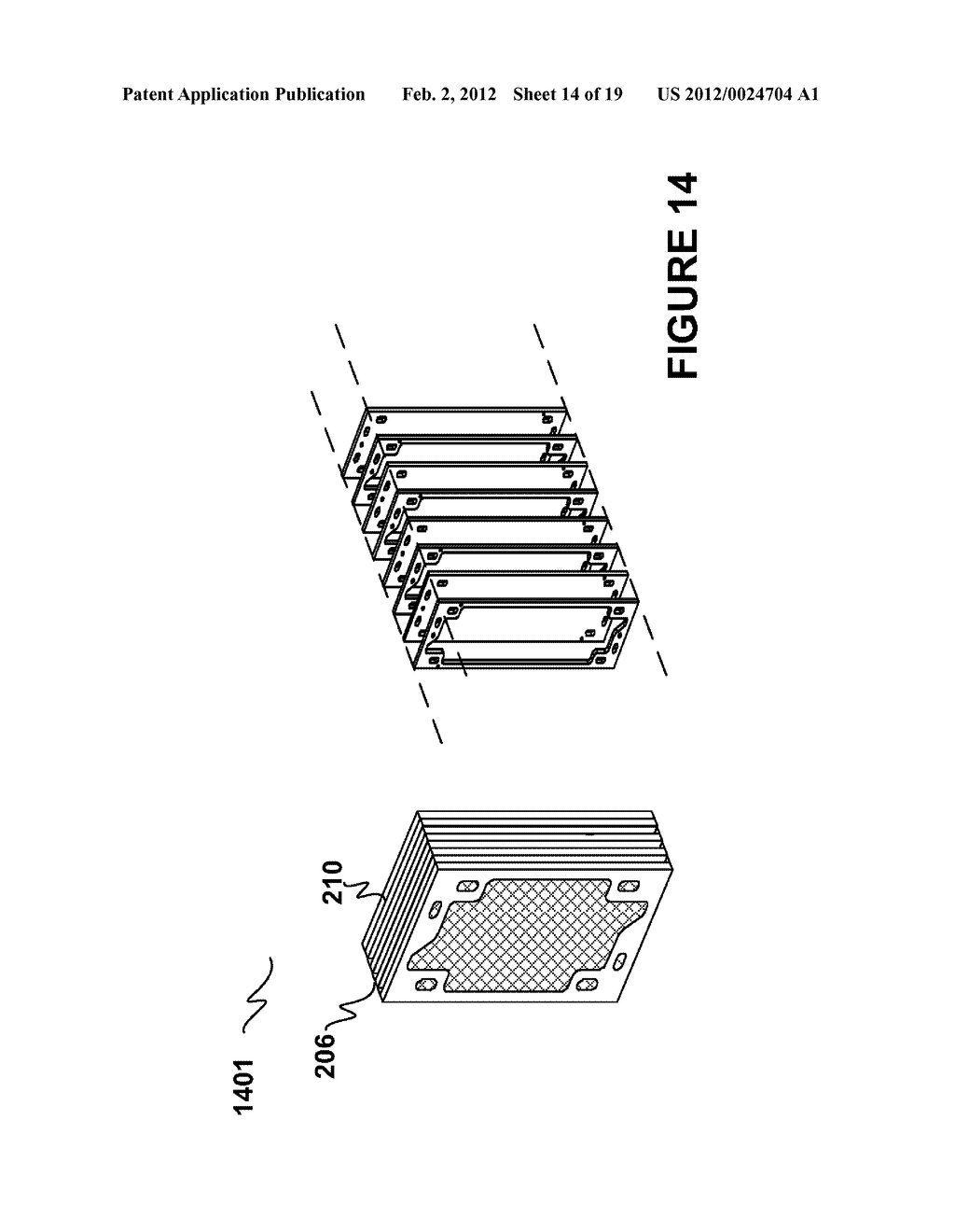 Modular Apparatus For A Saltwater Desalinating System, And Method For     Using Same - diagram, schematic, and image 15