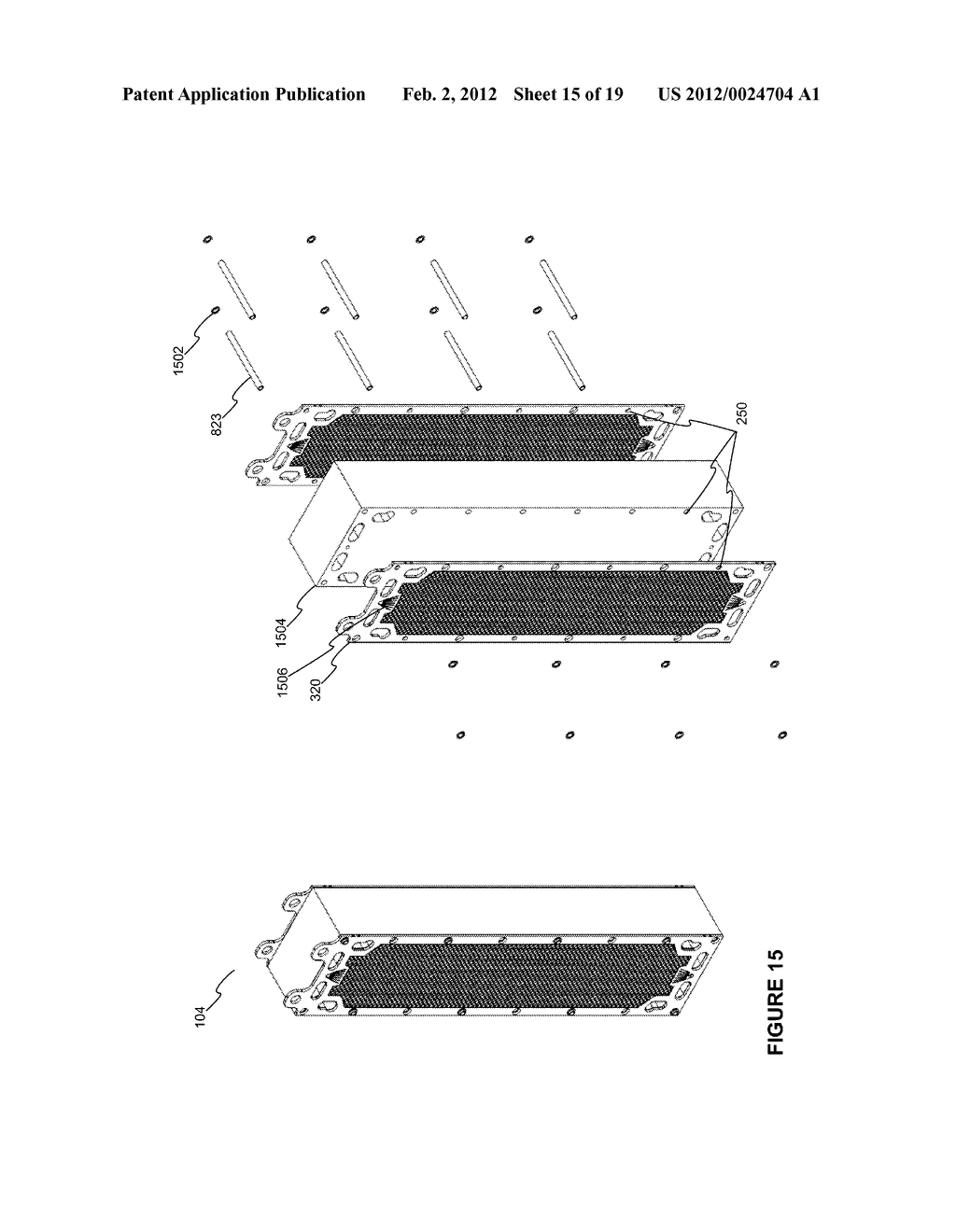 Modular Apparatus For A Saltwater Desalinating System, And Method For     Using Same - diagram, schematic, and image 16