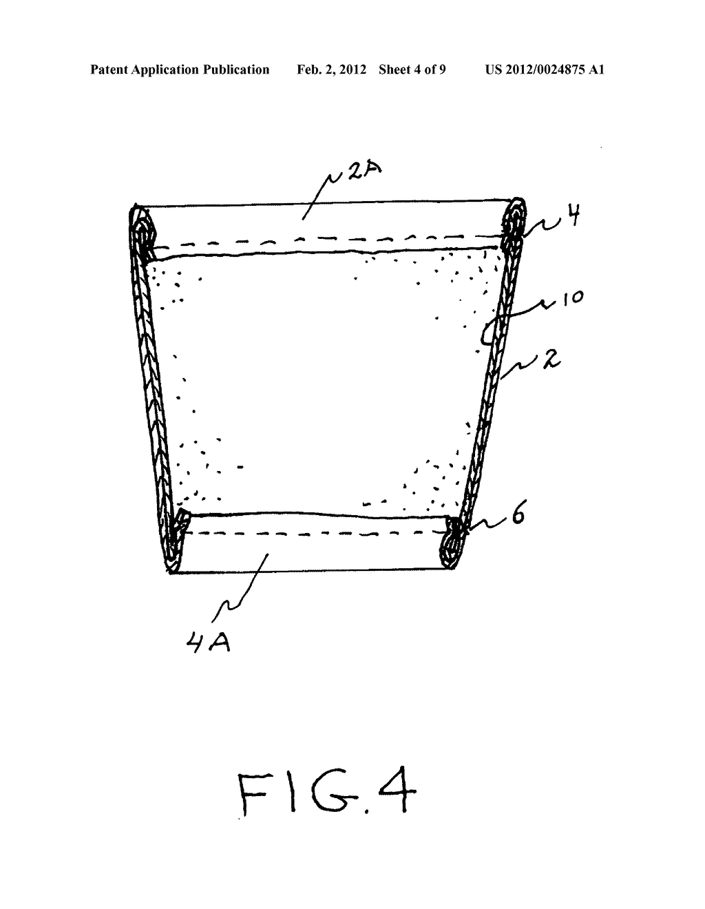 Insulating cup sleeve - diagram, schematic, and image 05