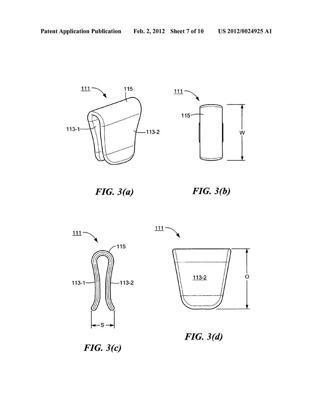 Device for holding used dog waste bags - diagram, schematic, and image 08
