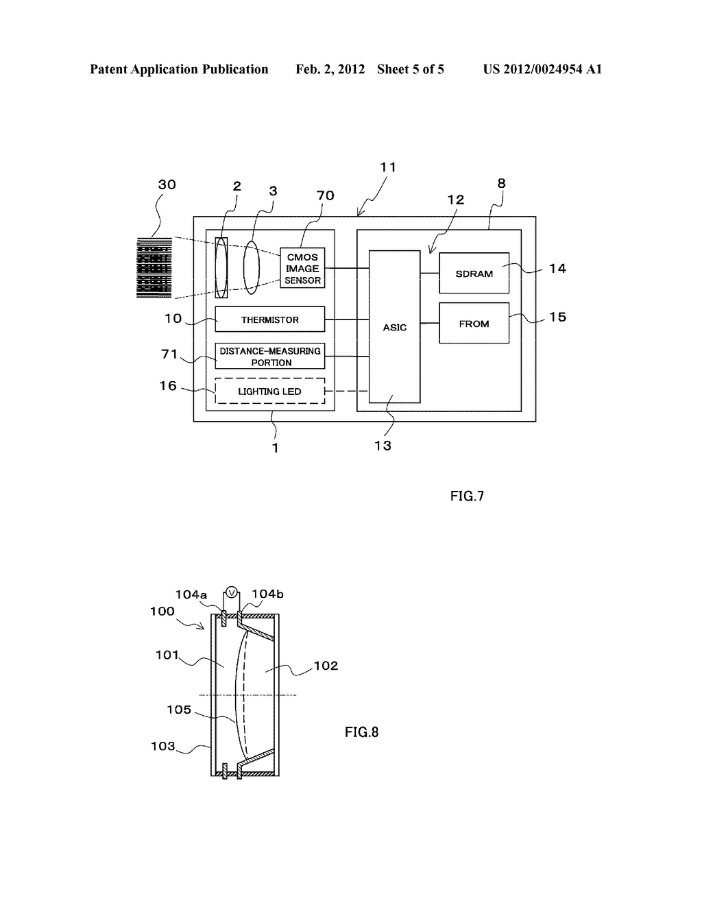 Optical Assembly and Optical-Information-Reading Device - diagram, schematic, and image 06