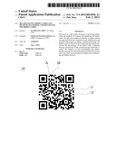 QR CODE HAVING HIDDEN CODES AND METHODS OF FORMING AND IDENTIFYING THE     HIDDEN CODES diagram and image