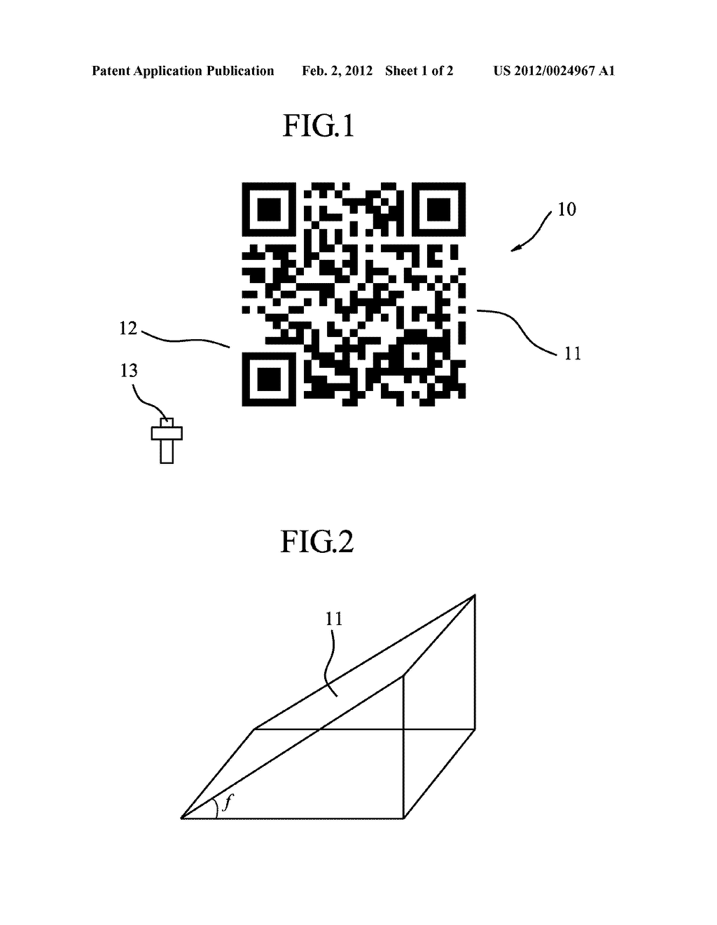 QR CODE AND MANUFACTURING METHOD THEREOF - diagram, schematic, and image 02