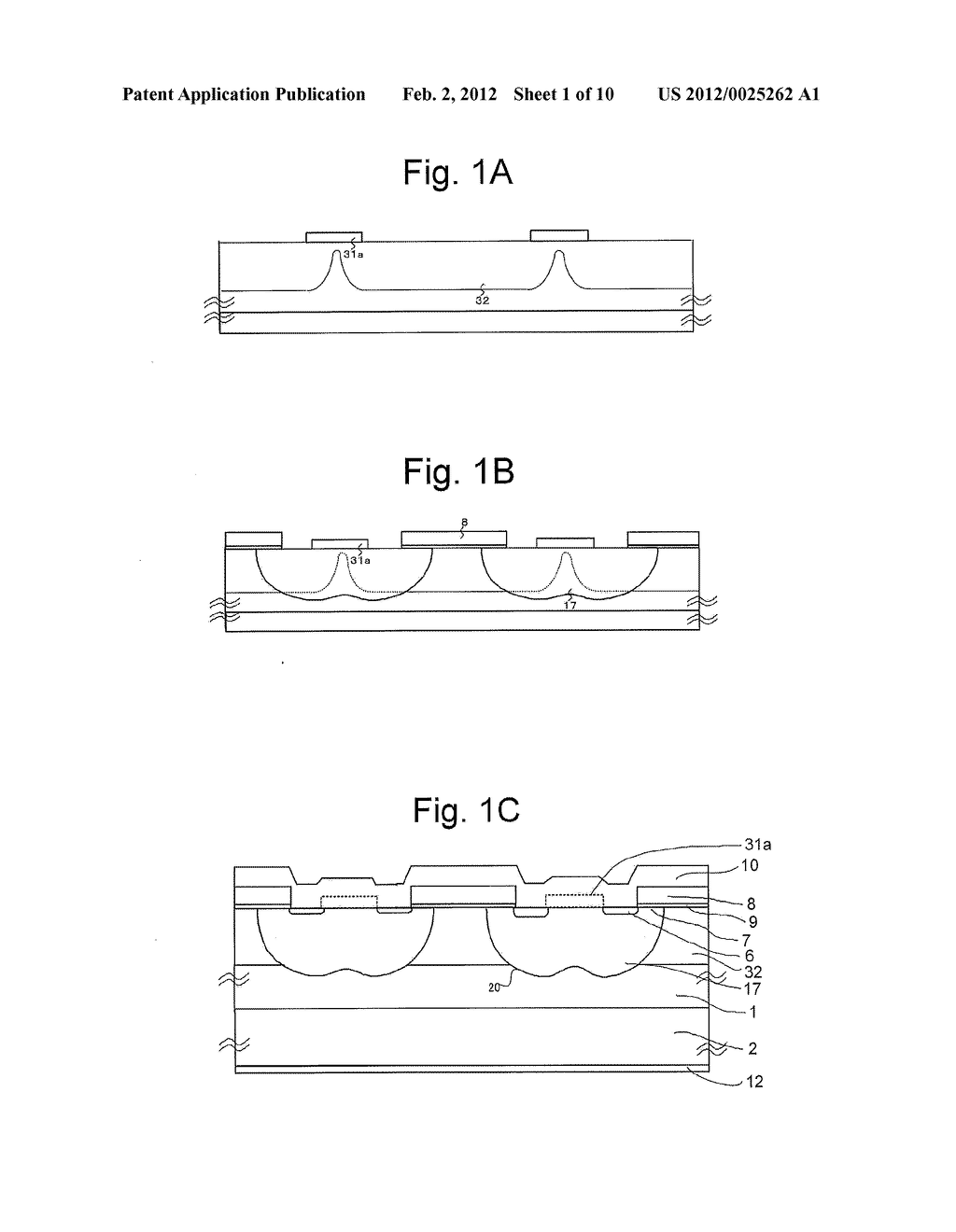 MOS Type Semiconductor Device and Method of Manufacturing Same - diagram, schematic, and image 02