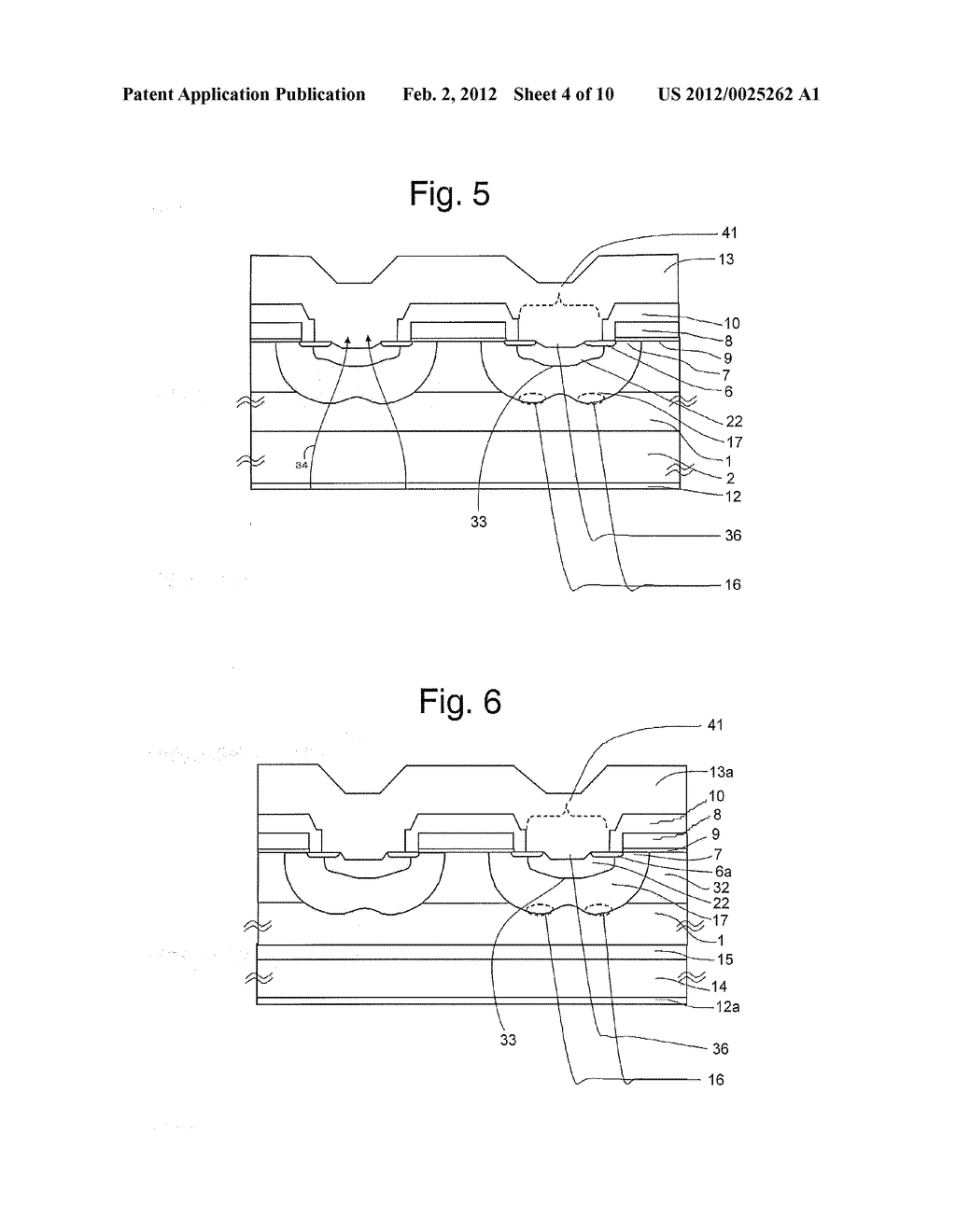 MOS Type Semiconductor Device and Method of Manufacturing Same - diagram, schematic, and image 05