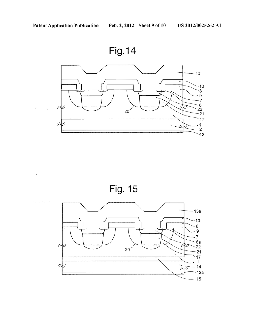 MOS Type Semiconductor Device and Method of Manufacturing Same - diagram, schematic, and image 10