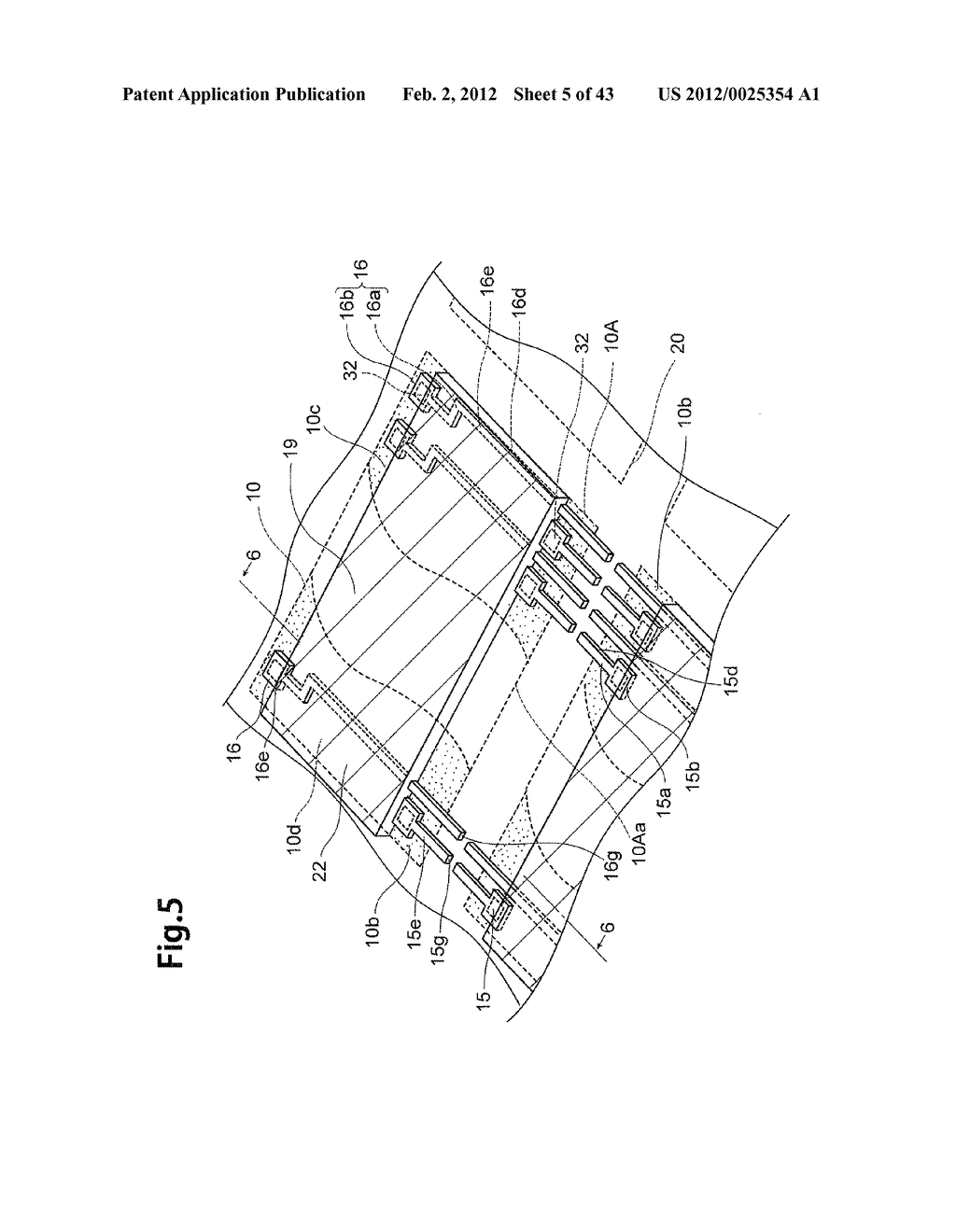 LAMINATED SEMICONDUCTOR SUBSTRATE, LAMINATED CHIP PACKAGE AND METHOD OF     MANUFACTURING THE SAME - diagram, schematic, and image 06