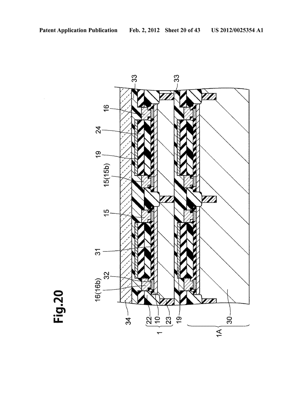 LAMINATED SEMICONDUCTOR SUBSTRATE, LAMINATED CHIP PACKAGE AND METHOD OF     MANUFACTURING THE SAME - diagram, schematic, and image 21