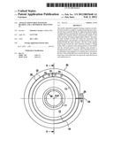 AXIALLY-ADJUSTABLE MAGNETIC BEARING AND A METHOD OF MOUNTING IT diagram and image