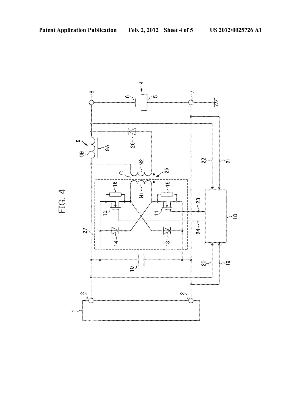 REVERSED-POLARITY PULSE GENERATING CIRCUIT FOR DIRECT CURRENT PLASMA AND     DIRECT CURRENT PLASMA POWER SUPPLY UNIT - diagram, schematic, and image 05