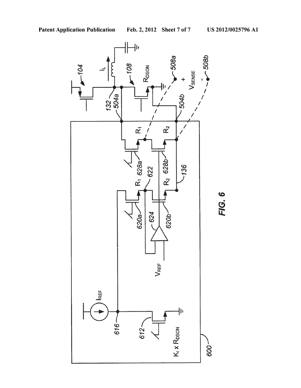 SENSING AND FEEDBACK WITH ENHANCED STABILITY IN A CURRENT MODE CONTROL     VOLTAGE REGULATOR - diagram, schematic, and image 08
