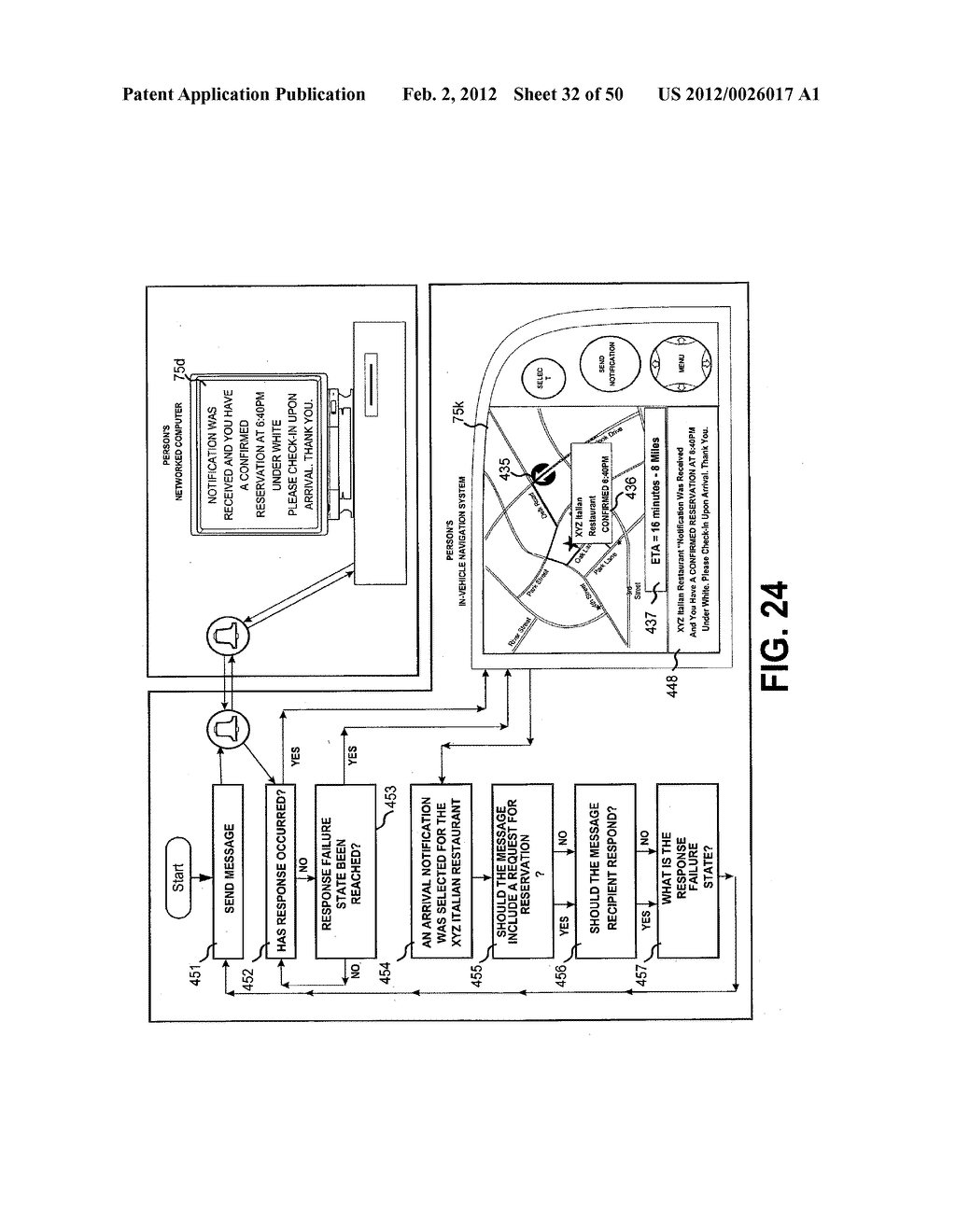 NOTIFICATION SYSTEMS AND METHODS ENABLING SELECTION OF ARRIVAL OR     DEPARTURE TIMES OF TRACKED MOBILE THINGS IN RELATION TO LOCATIONS - diagram, schematic, and image 33