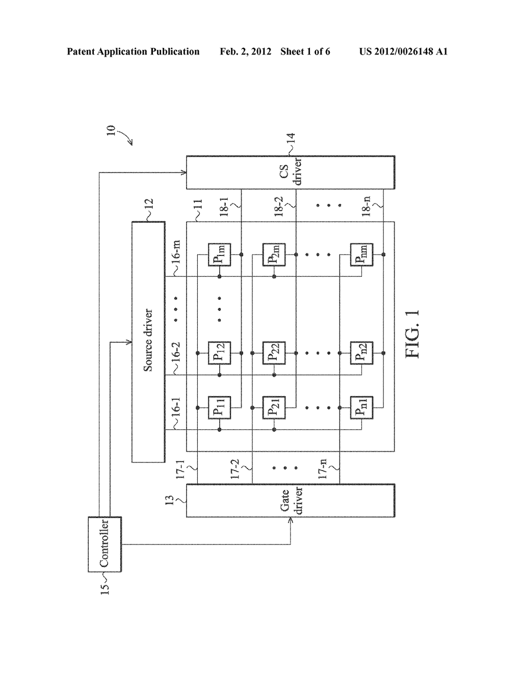 ACTIVE MATRIX TYPE DISPLAY DEVICE AND ELECTRONIC DEVICE USING THE SAME - diagram, schematic, and image 02
