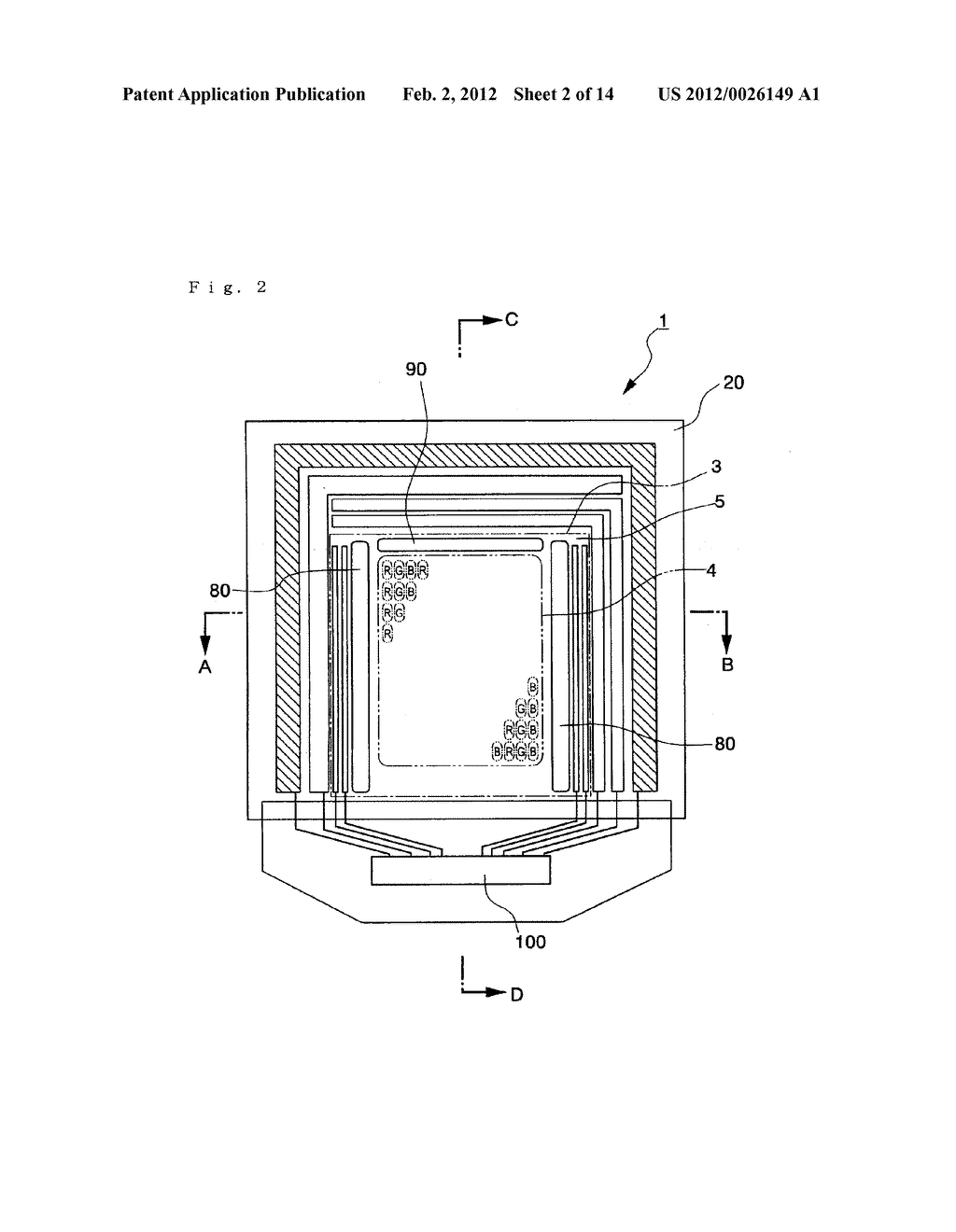 ELECTRO-OPTICAL DEVICE, METHOD OF MANUFACTURING THE SAME, AND ELECTRONIC     APPARATUS - diagram, schematic, and image 03