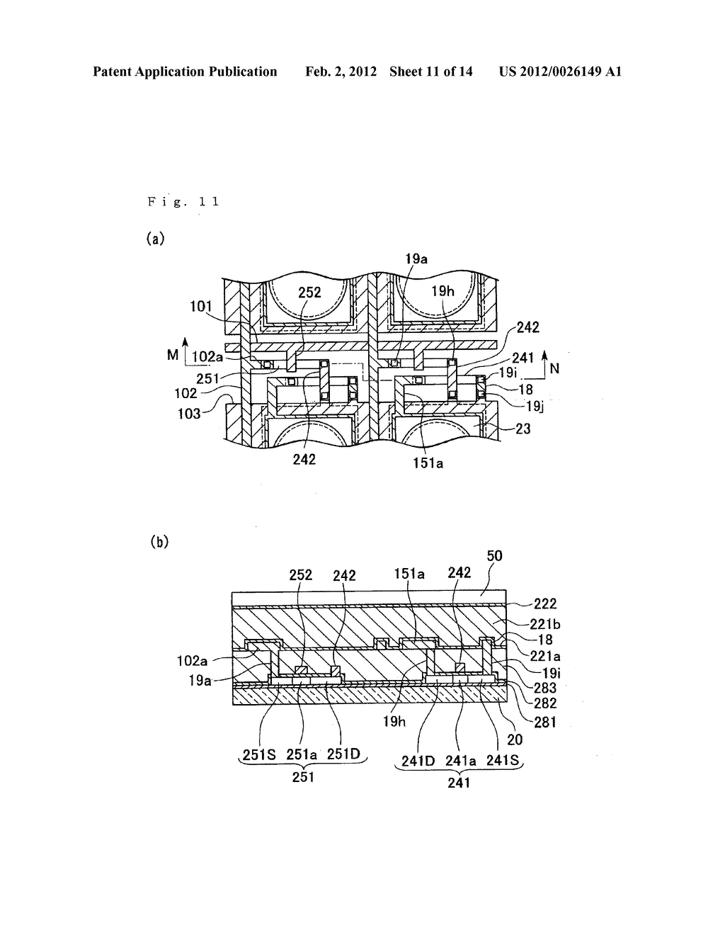 ELECTRO-OPTICAL DEVICE, METHOD OF MANUFACTURING THE SAME, AND ELECTRONIC     APPARATUS - diagram, schematic, and image 12