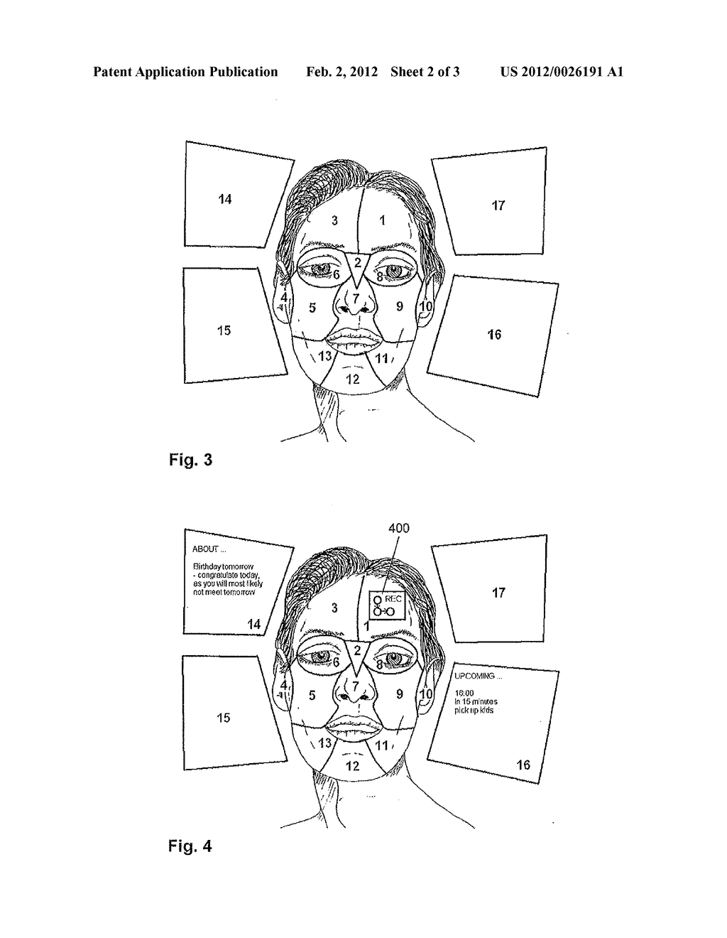 METHOD FOR DISPLAYING AUGMENTATION INFORMATION IN AN AUGMENTED REALITY     SYSTEM - diagram, schematic, and image 03