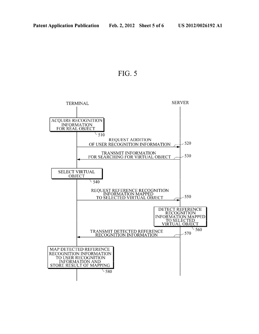APPARATUS AND METHOD FOR PROVIDING AUGMENTED REALITY (AR) USING USER     RECOGNITION INFORMATION - diagram, schematic, and image 06