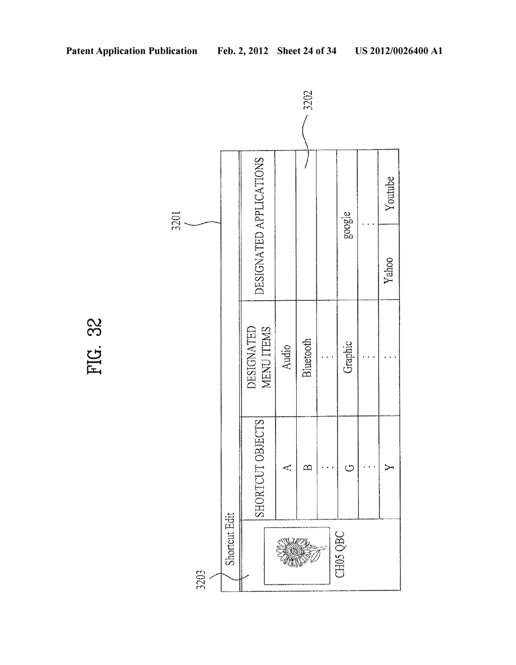 METHOD FOR PROVIDING A SHORTCUT AND IMAGE DISPLAY DEVICE THEREOF - diagram, schematic, and image 25