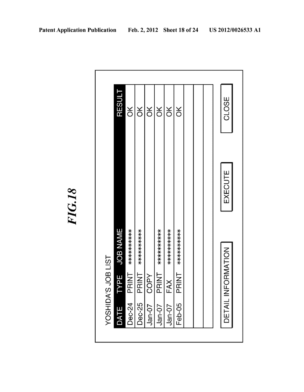 IMAGE PROCESSING APPARATUS CAPABLE OF RECORDING USER INFORMATION INTO     EXTERNAL RECORDING MEDIUM, AND CONTROL METHOD AND RECORDING MEDIUM     THEREFOR - diagram, schematic, and image 19