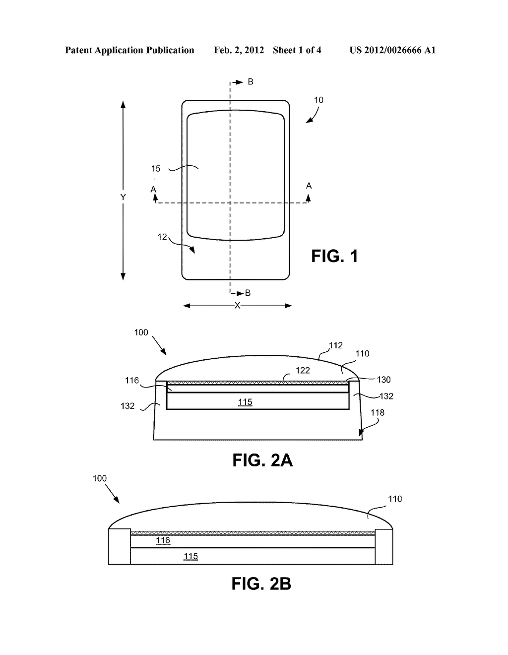 DISPLAY ASSEMBLY FOR A COMPUTING DEVICE - diagram, schematic, and image 02